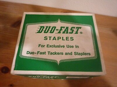 Duo Fast Staples Use in Tackers and Staplers 5010 count  5/16, 8mm