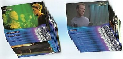 STAR TREK VOYAGER 1999 Closer To Home Base Card LOT!!! 73 Cards NM/M #2