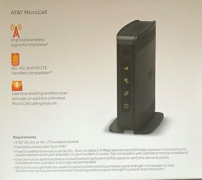 AT&T Microcell Model DPH154 -  Signal Booster