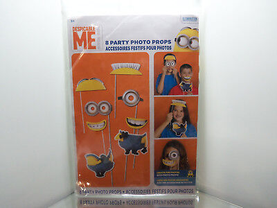 MINIONS DESPICABLE ME BY UNIVERSAL STUDIOS 2 SHEETS BEAUTIFUL STICKERS #RISAS41