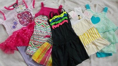 50 Piece Lot of New Boys & Girls Outfits Assorted Sizes, Styles, Seasons Resale