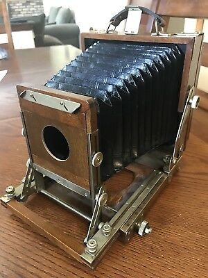 Calumet Wood Field Camera Large Format 4x5 With Lens Board