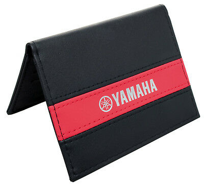 Yamaha Wallet Leather For COLLECTOR! GIFT VINTAGE Document Holder  07-008