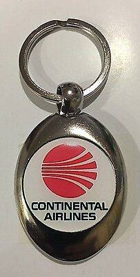 Continental  airlines Logo Key Chain Key Ring🏁🏁🏁🏁