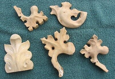 Carved Wood Trim Moulding Furniture Pediments~Swoboda Industries Kewaunee Wis e