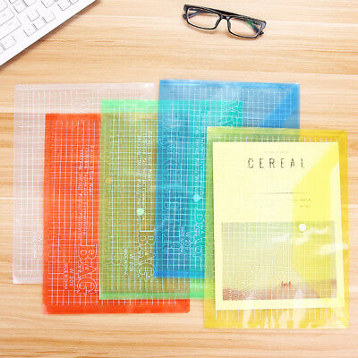 Plaid A4 Paper File Bag Document Folder Student Office School Supplies Newly