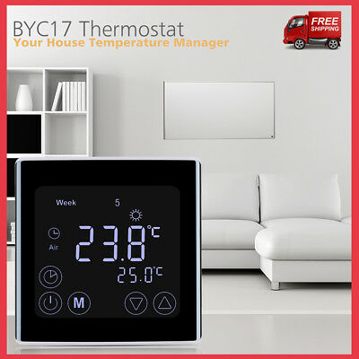 Automatic Digital LCD Display Thermostat Room 16A Heating Temperature Controller