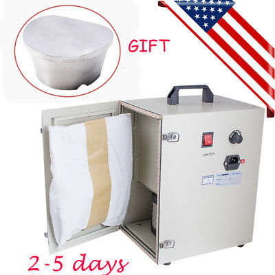 Dental Digital Dust Collector Vacuum Cleaner Cleaning Aluminum Duplicating Flask