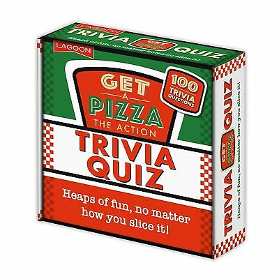 Get A Pizza The Action Trivia Quiz Family General Knowledge Fun Novelty Game