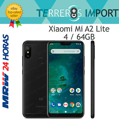 Xiaomi Mi A2 Lite Negro 4GB Ram 64 GB Rom Version Global Europea Español