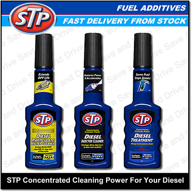 STP Diesel Particulate Filter & Injector Cleaner & Fuel Treatment Additive DPF