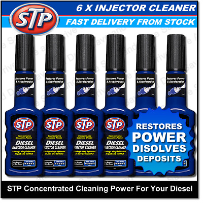 6x STP Diesel Injector Cleaner Fuel System Treatment Additive Restores Power