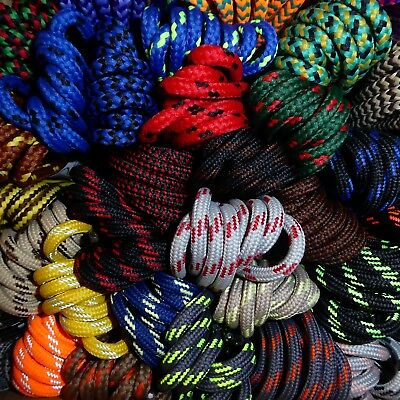 Strong Hiking Boot Shoe Laces - Huge choice 59 patterned designs - Length 110cm