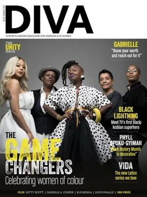 Diva Magazine October 2018 - Celebrating Women Of Colour - Gabrielle - Vida