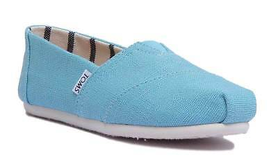Toms Classic Slip On Womens Marineblue Canvas Trainer Size UK 3 - 8