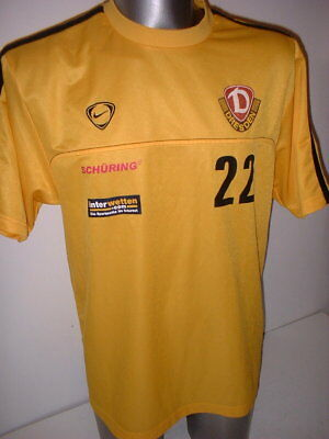 9ecbe6509968 Dynamo Dresden Player Training Nike Adult L Shirt Jersey Trikot Football  Soccer