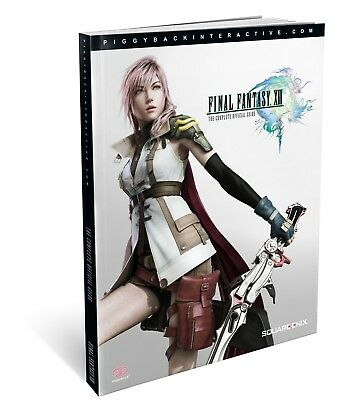 Final Fantasy Xiii 13 - The Complete Official Strategy Guide * New Sealed