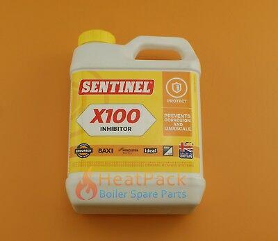 Sentinel Inhibitor X100 1 Litre System Cleaner Brand New