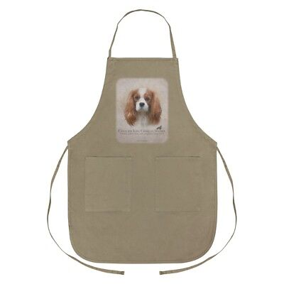 Cavalier King Charles Spaniel Dog Breed Apron with Pockets