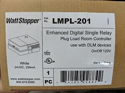 Watt Stopper LMPL-201 Enhanced Digital Single Relay Plug Load Room Controller