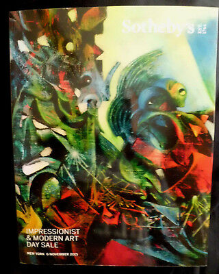 Auction Catalog Sothebys Impressionist and Modern Art Day Sale N5