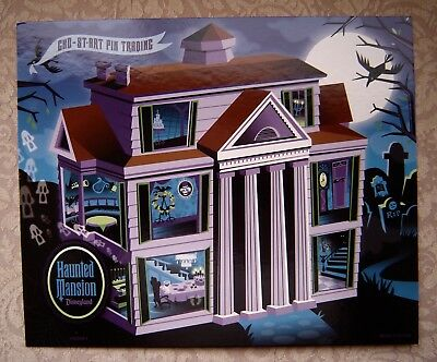 "Disney Haunted Mansion GWP Pin Trading Board Only 10""x12"""