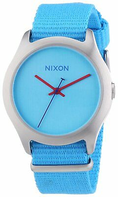Nixon Women's A348-606-00 Mod38mm Bright Blue Watch A348606