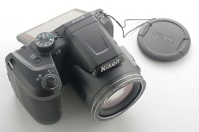 Nikon COOLPIX B500 16.0MP Black Digital Camera Full HD 40x Zoom - NEW Condition!