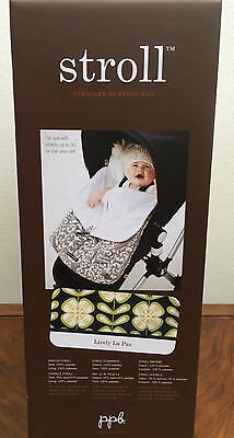 * Petunia Pickle Bottom Stroll Stroller Cover  Bunting Bag Lively La Paz