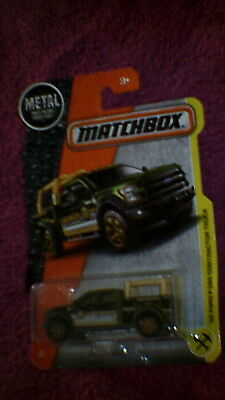 MATCHBOX 2017/'15 FORD f-150 Contractor TRUCK 47//125 neu/&ovp
