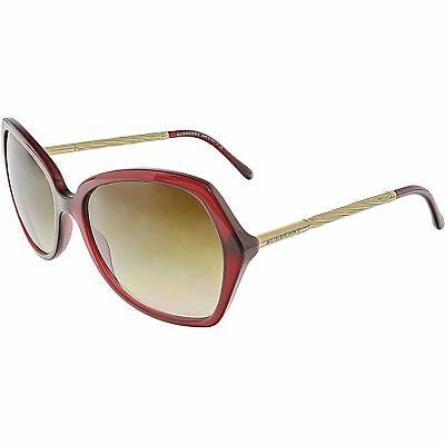 4a5b721245b BURBERRY WOMEN S GRADIENT BE4193-301413-57 Red Butterfly Sunglasses -   149.99