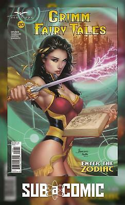 GRIMM FAIRY TALES #20 COVER C ANACLETO (ZENESCOPE 2018 1st Print) COMIC