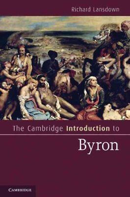 The Cambridge Introduction to Byron by Richard Lansdown (Paperback, 2012)