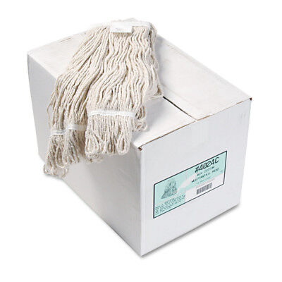 Boardwalk Pro Loop Web/Tailband Wet Mop Head, Cotton, 12/Carton  4024CCT New