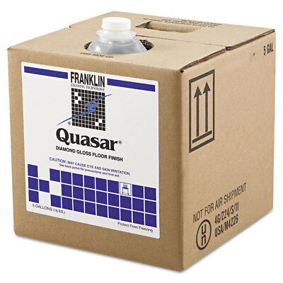 Franklin Cleaning Tech Quasar High Solids Floor Finish, 5gal Box  F136025 New