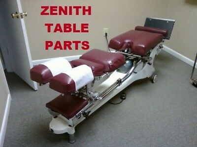 Zenith 210 Hi Lo Chiropractic Adjusting Table PARTS