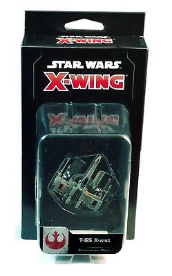 Fantasy Flight Games, Star Wars X-Wing 2.0, T-65 X-Wing Expansion New