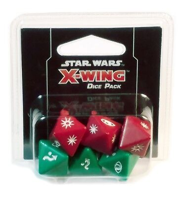Fantasy Flight Games, Star Wars X-Wing 2.0, Dice Pack Expansion, New