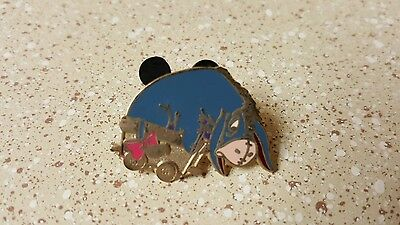 Eeyore In A Wagon Trading Pin