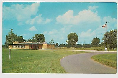 Classic Postcard Mound City Group National Monument - Office - Chillicothe, Ohio