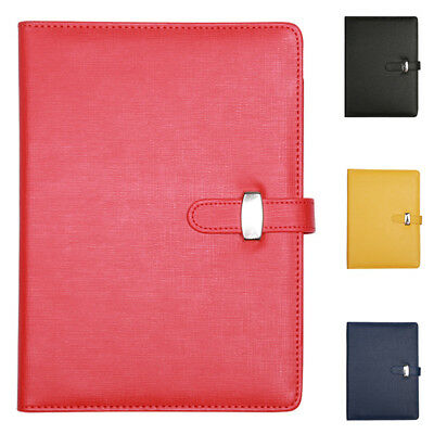 Personal Pocket Organiser Planner Filofax Diary Notebook PU Leather Cover,A X5W3