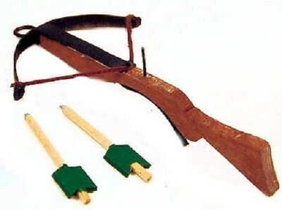 Dollhouse Miniature Renaissance Crossbow - Terry Harville -- 1:12