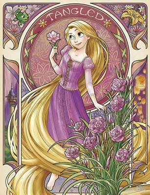 Yanoman Jigsaw Puzzle 42 55 Disney Fleur Rapunzel 300 Small Pieces