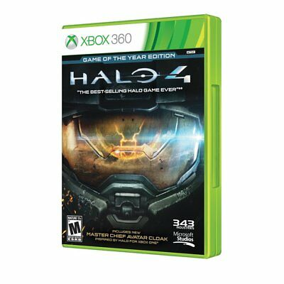 Halo 4: Game of the Year Edition (Xbox 360 + One) BRAND NEW &FACTORY SEALED goty