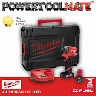 Milwaukee M12FIWF12-622X  FUEL 1/2in Impact Wrench with Batteries & Case