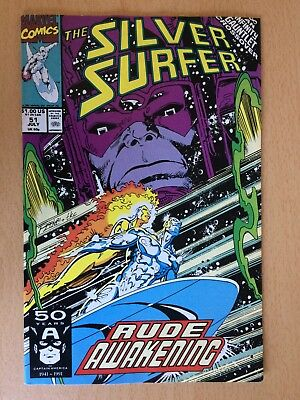 Silver Surfer 51, 1991 - Infinity Gauntlet crossover - very good condition