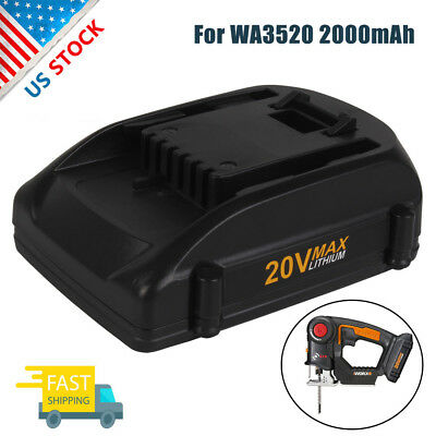 2.0Ah 20V Max WA3525 Lithium Battery For WORX WA3520 WG545 W155 WG151s WG255s