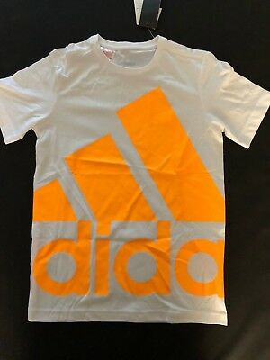 Adidas Kids unisex boys girls Size 13 14 Essential Tee BNWT BARGAIN