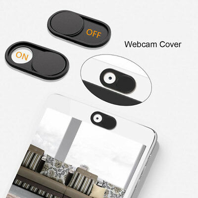 1Pc Black WebCam Cover Camera Privacy Sticker for Phone Laptop PC Tablet UK 2018