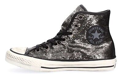 timeless design d6a21 8a1ad SCHUHE CONVERSE ALL Star Chuck Taylor Pailletten Hoch Frau Distressed Hi